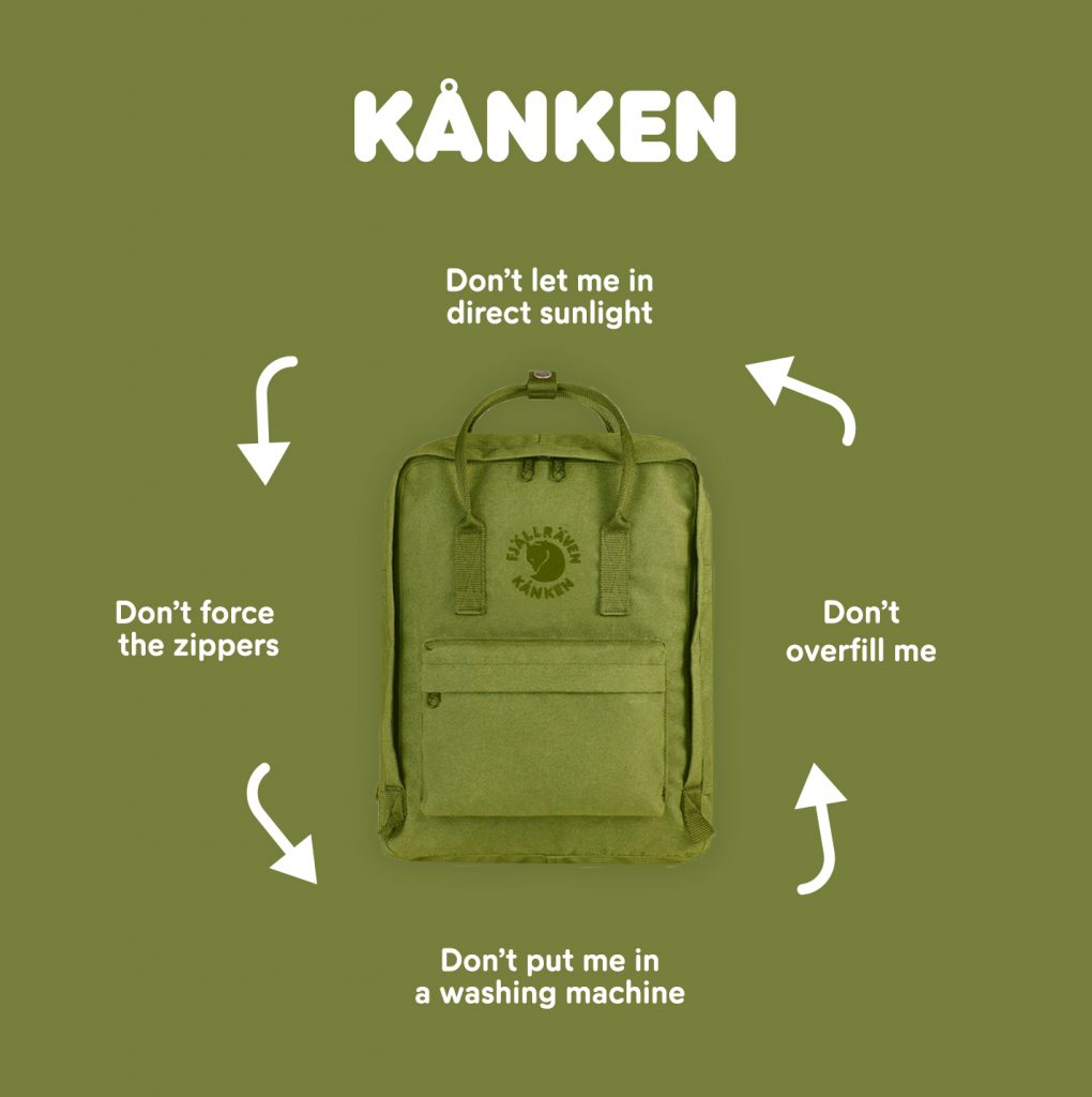 How to take care of your Kånken