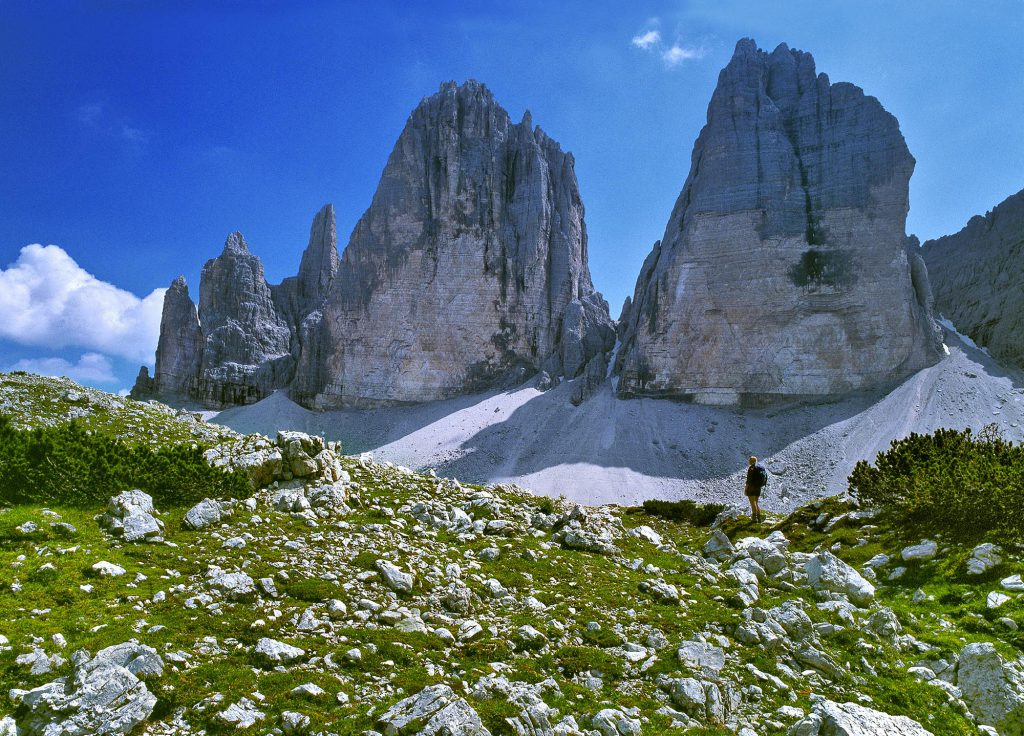 Tre Cime di Lavared, The Dolomites, Italy @Claes Grundsten