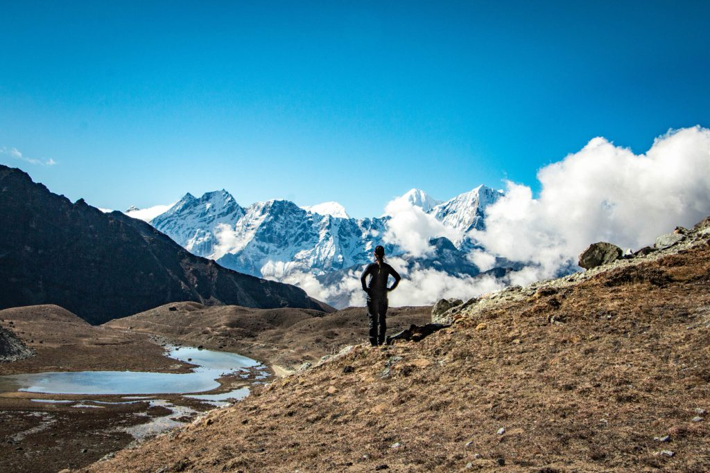 Mountain landscape, photo boy @where_the_trail_begins