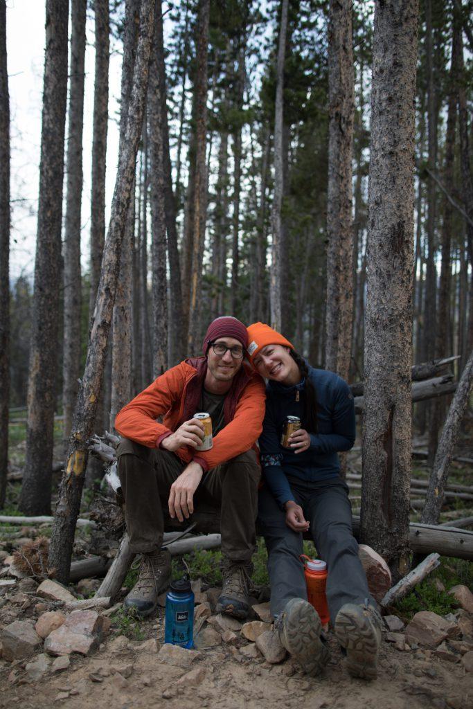 Happy hikers on fjällräven classic usa