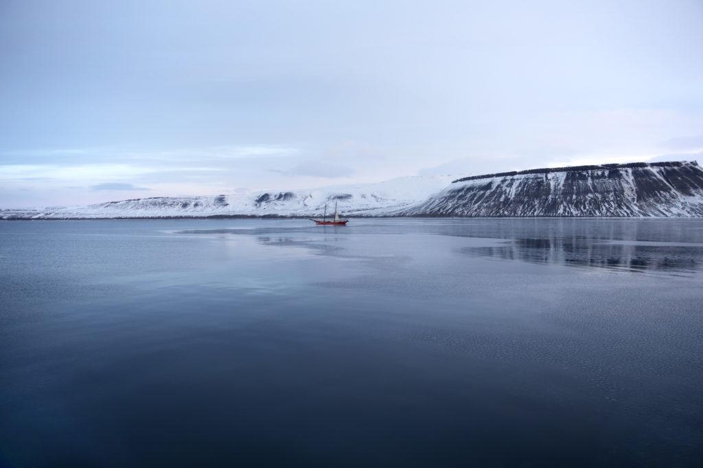 The coast of Svalbard
