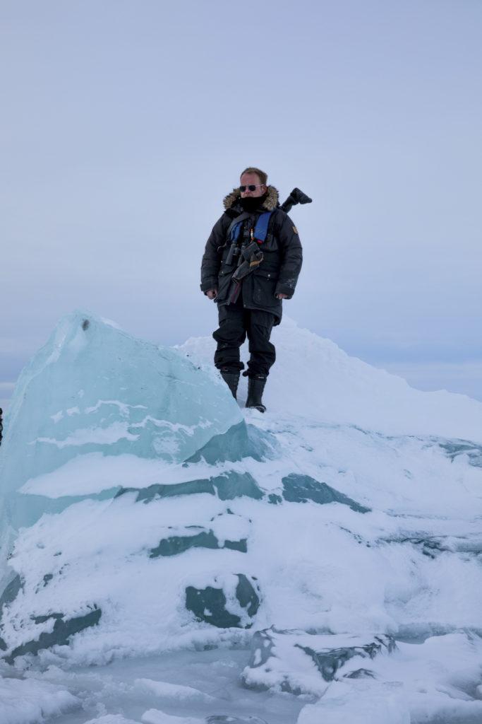 Fredrik Granath on Svalbard