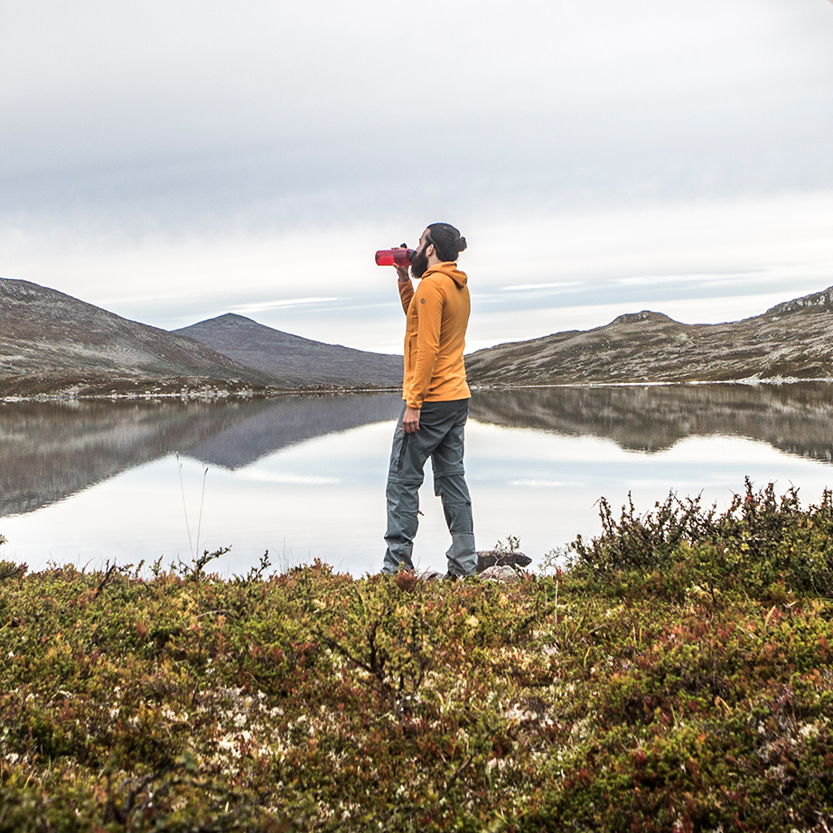 Trekking, fjällräven trousers