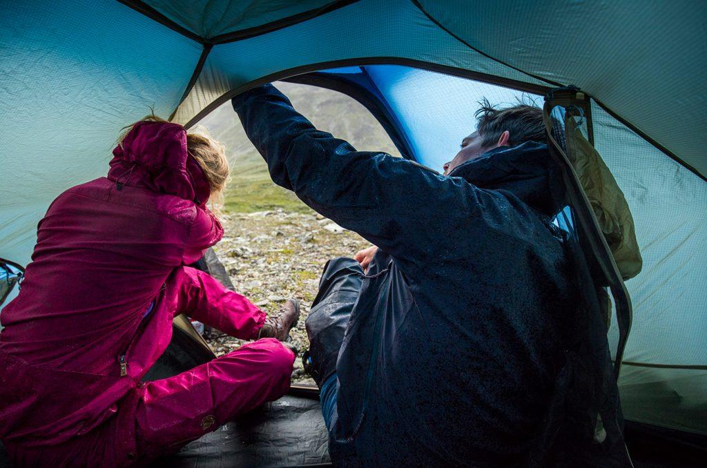 Camping, fjällräven Keb Dome 2